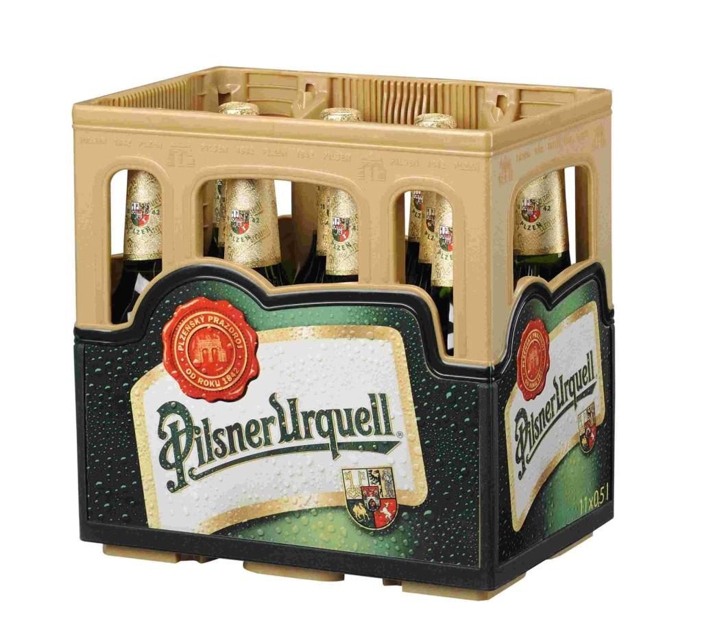 1a29ff3a6dcbdf Pilsner Urquell introduces new packaging for 11 bottles
