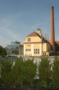 Building of the Pilsen brewery brew house
