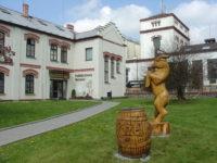 Nádvoří Pivovar Velké Popovice